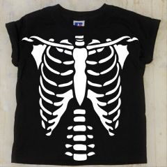 Kids Skeleton Halloween T-Shirt